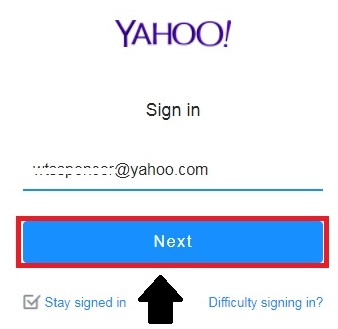 yahoo cant recover my account online
