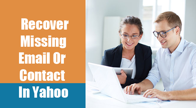 Recover Missing Email Or Contact In Yahoo