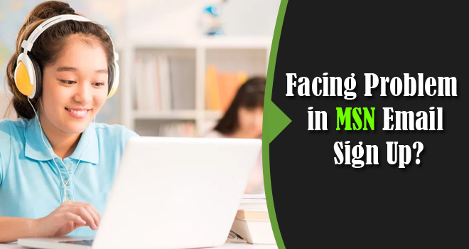 problem in msn email sign-up