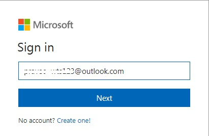 msn account login