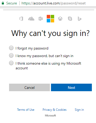 sign in hotmail