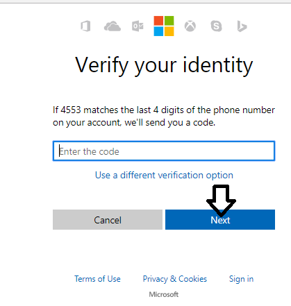 how to get password to hotmail account
